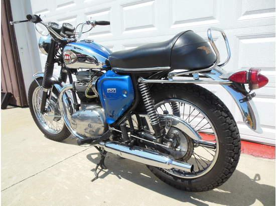 1970 BSA Lightning 650 A7 103810081 thumbnail2