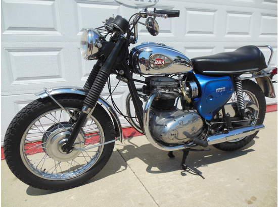 1970 BSA Lightning 650 A7 103810081 thumbnail3