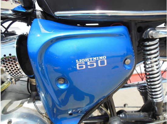 1970 BSA Lightning 650 A7 103810081 thumbnail5