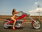 2007 American Ironhorse LSC    Rigid Frame Custom Chopper